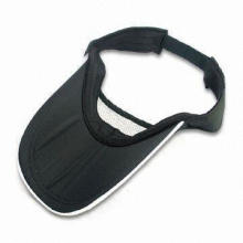 Sun Visor Hat, Available in Various Colors, Sizes and Designs, OEM and ODM Orders are Accepted