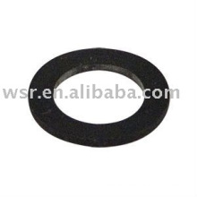 Custom molded rubber sealing washers