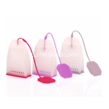 Silicone Strainer for Loose Leaves Reusable Bag