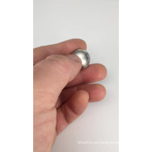 Pulsador antivandálico de metal impermeable CMP 12 mm.
