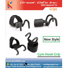 Strong Power Weight Lifting Steel Hooks Grips Straps Gym / hook / grips
