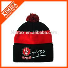 Sombrero de toque de rayas de invierno