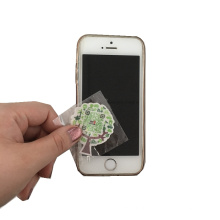 Горячие продажи мобильного телефона очиститель экрана с бумажной карточкой напечатанный стикер