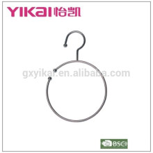 Concise and useful chrome plated metal belt hanger for sale