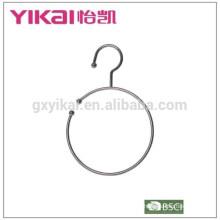 Gancho de cinto de metal cromado conciso e útil para venda