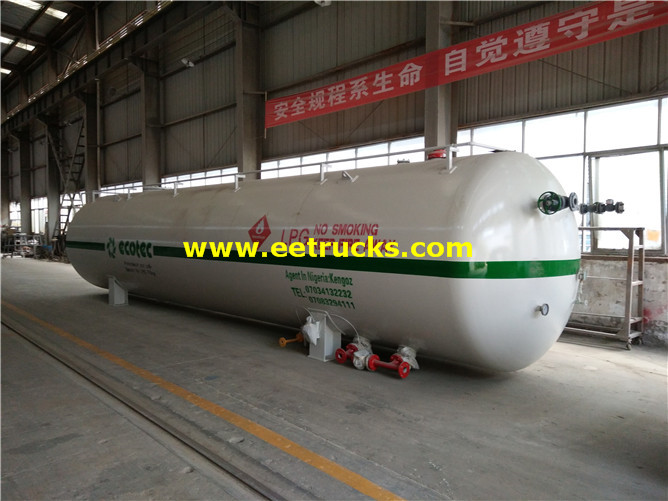 Industrial Aboveground Propane Tanks
