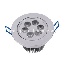 Zhongshan factory price dia 90mm round 6W led ceiling light downlight