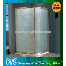 bathroom sanitary ware temper glass color pattern shower room k7823