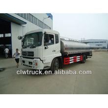 Dongfeng 12000L a 15000L tanque de leche, camión cisterna de leche