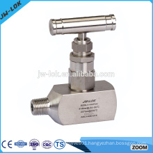 Hot selling two way straight needle valve