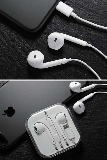 Iphone earbuds with mic
