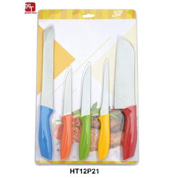 juego de cuchillos de cocina cubiertos