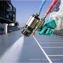 Revêtement protecteur de haute qualité d'élastomère de jet de polyurea avec l'OIN
