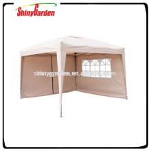 Tente de festivité 3 * 3 m Easy Up beige pliable