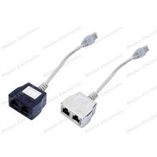 Cat5e RJ45 Ethernet Splitter Adapters