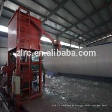 Enroulement contrôlé automatique de tuyau de filament de fibre de verre / FRP / GRP faisant la machine avec des moules