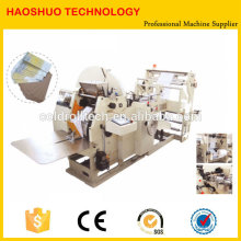 Automatic Paper Bags with handle manufacturing machines