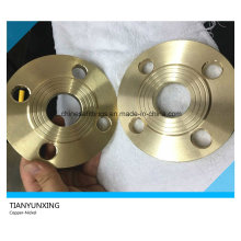 Rached Face Sorf Slip auf Messing / Kupfer / Red Copper Flange