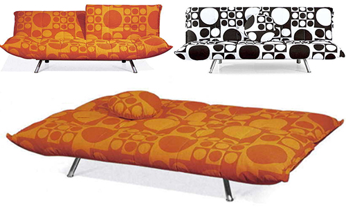 Fabric Loveseat Sofa Bed