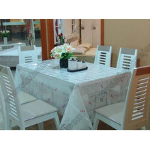 Transparent Fancy Table Cloth Housse de table en PVC
