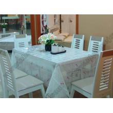 Transparente Fancy Table Cloth Tampa de mesa de PVC