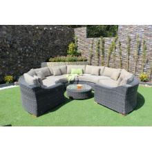 Wicker Poly Rattan Sofa Set