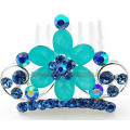 Kinds Of Color Fashion Cute Kids Flower Crown Comb
