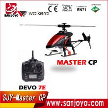 Helicóptero Walkera Master CP con transmisor DEVO 7E helicóptero RTF de control de radio 2.4GHz 6ch 3D SJY-Master CP