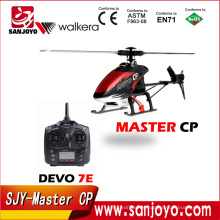 Walkera Master CP helicopter wtih DEVO 7E transmitter 2.4ghz 6ch 3D gyro radio control RTF helicopter SJY-Master CP