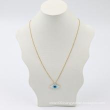 New Fashion Jewelry Handmade Miyuki Seed Beaded Evil Evileye Eye Charm Pendant Necklace