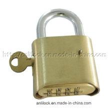 Cadenas, cadenas de combinaison avec verrouillage de clé maître (AL-B500)