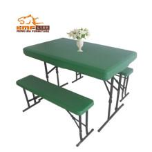 Пластиковый стол для пива 113 см и скамья