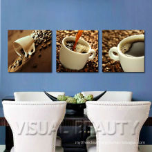 Coffee Canvas Wrapped Art For Dinning Room