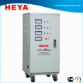 Three phase SVC 60kva servo motor ac avr industrial voltage stabilizer regulator