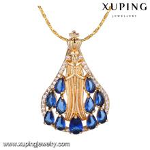 33175 Promotion price fashion wholesale jewelry amethyst pendant CZ pendant