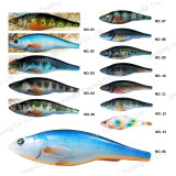 Top Grade Grade Plastic Fishing Lure--UV Coated Diving Minnow (HW007)