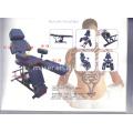 Hydraulic cama facial & mesa de massagem e mobiliário de tatuagem