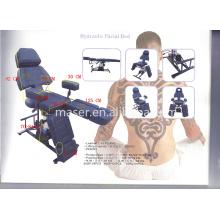 Profissional couro tatuagem mobiliário soft tattoo cadeira / tatuagem cama com flexível swing pernas