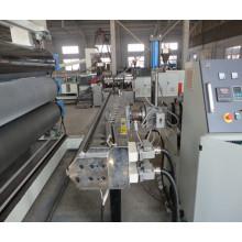 Línea de producción de extrusión de láminas de plástico PS / PP / PE / ABS / PMMA / PC