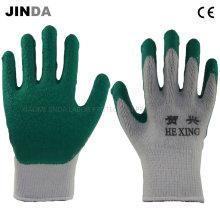 Трикотажная пряжа Shell Latex Coated Labor Protective Safety Work Gloves (LS007)