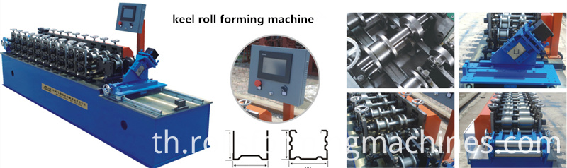 cross frame forming mills