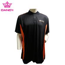 Plus Size Herren Golf Collared Shirt