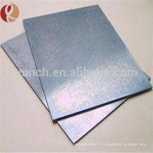Vente chaude bons prix de tantale en métal pour la plaque de tantale