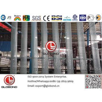 Panel compuesto de aluminio Globond Plus PVDF (PF110)