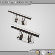 Barra de puerta de gabinete de aluminio fundido a presión con electrochapado