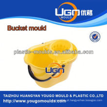 TUV assesment mold factory / new design magic mop bucket mold in China