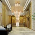Luxury lobby modern K9 crystal meeting room chandeliers
