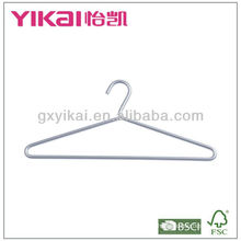 Aluminium hanger for shirt