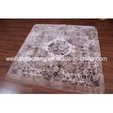 Рашель норки полиэстер лохматый украшения ковер (NMQ-CPT013)