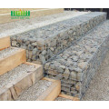 Galvanized Iron Wire 76mmx76mm Aperture Welded Gabion Wall